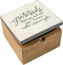 Box of Gratitude