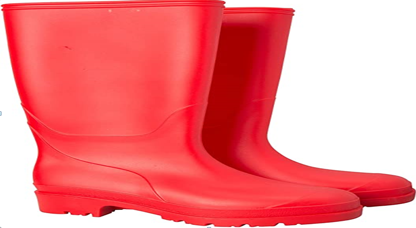 The big red wellies story