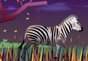 Zebras Strip