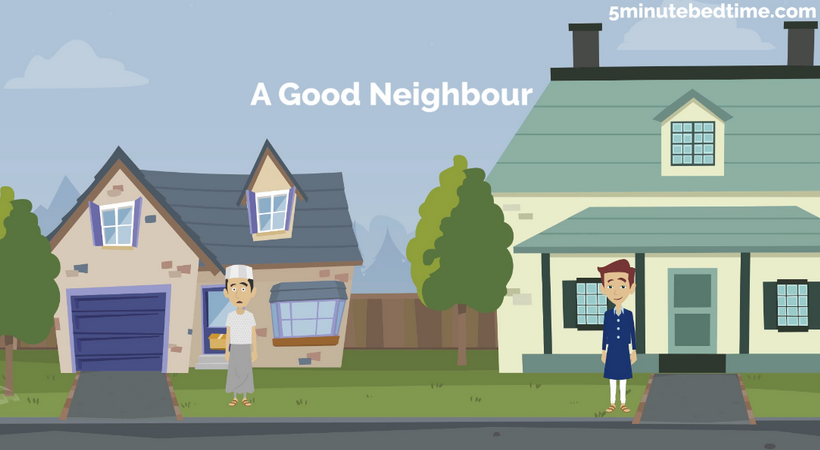 A good neighbour story