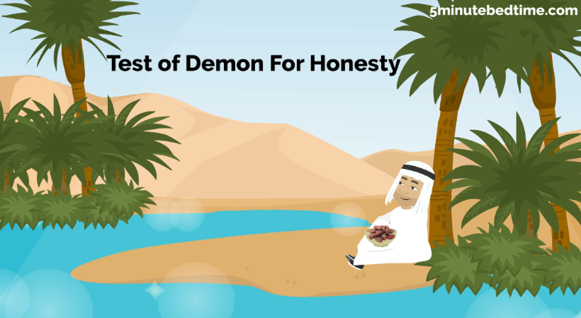 Test of demon for honesty story