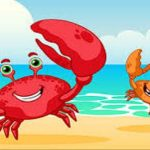 The young crab and his mother