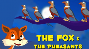 the fox and the pheasants