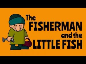 the fisherman and the little fish